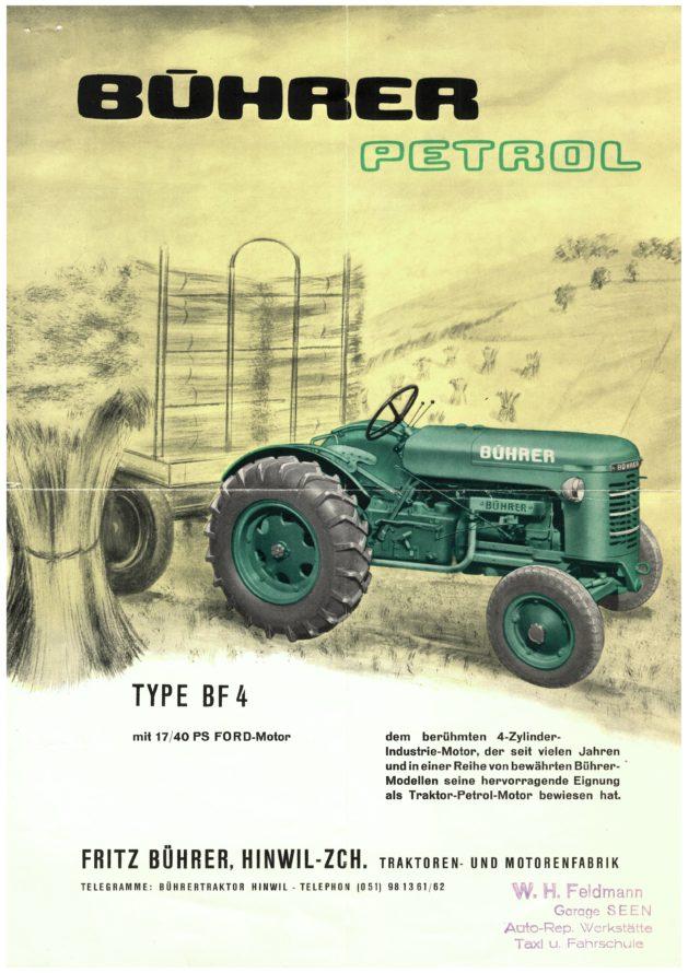 Image result for Fritz Buehrer Traktorenfabrik