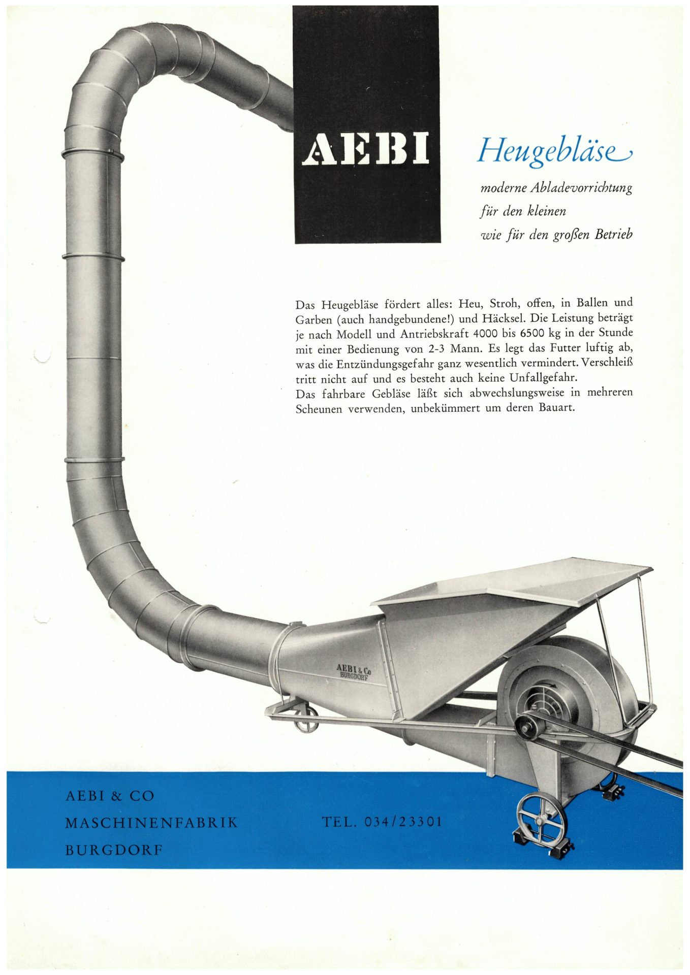 Image result for aebi-heugeblaese-a